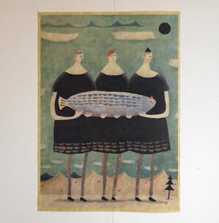 ポスター 「三姉妹」