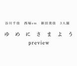 ゆめにさまよう preview|谷川千佳・西塚em・新田美佳