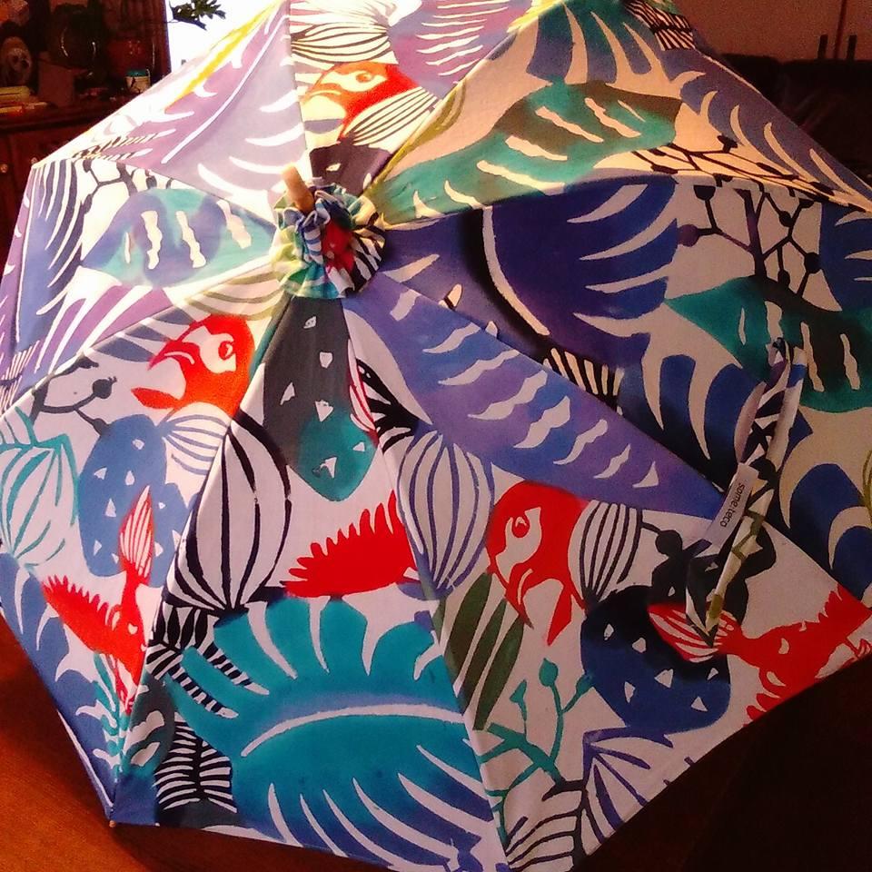型染め日傘