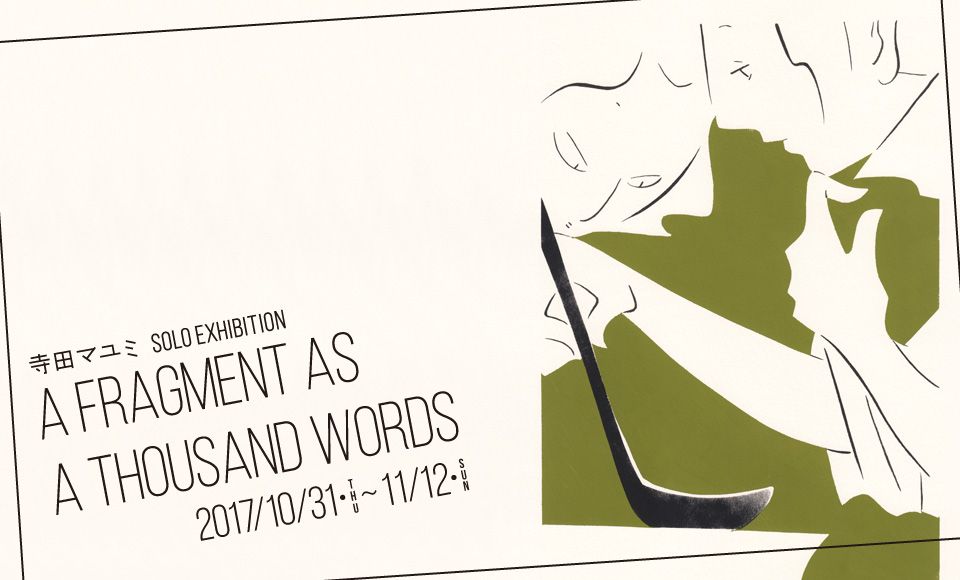 a fragment as a thousand words|寺田マユミ|2017 10/31【tue】〜11/12【sun】
