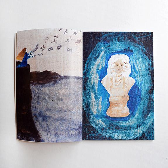 画集「本は彼方から」