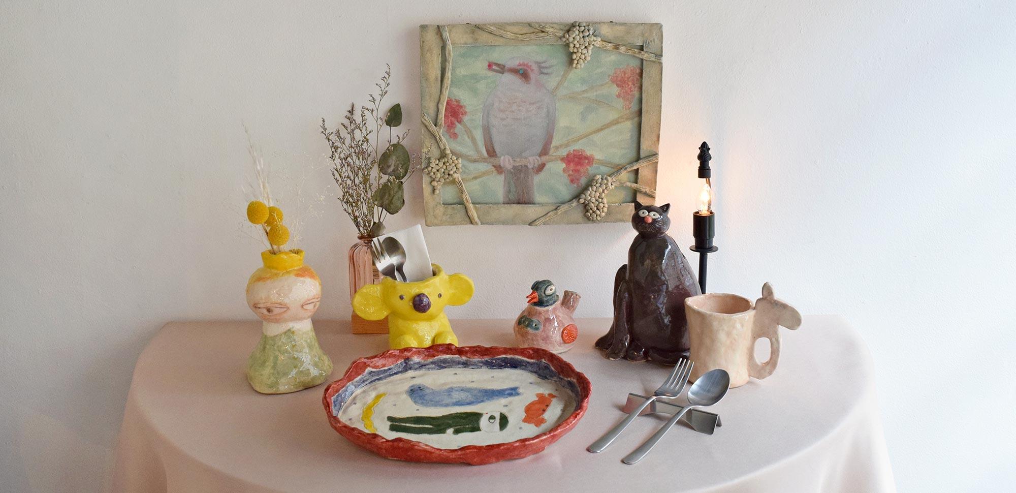 「on the table 〜幸せな食卓〜」に向けて/@愛知県 瀬戸市