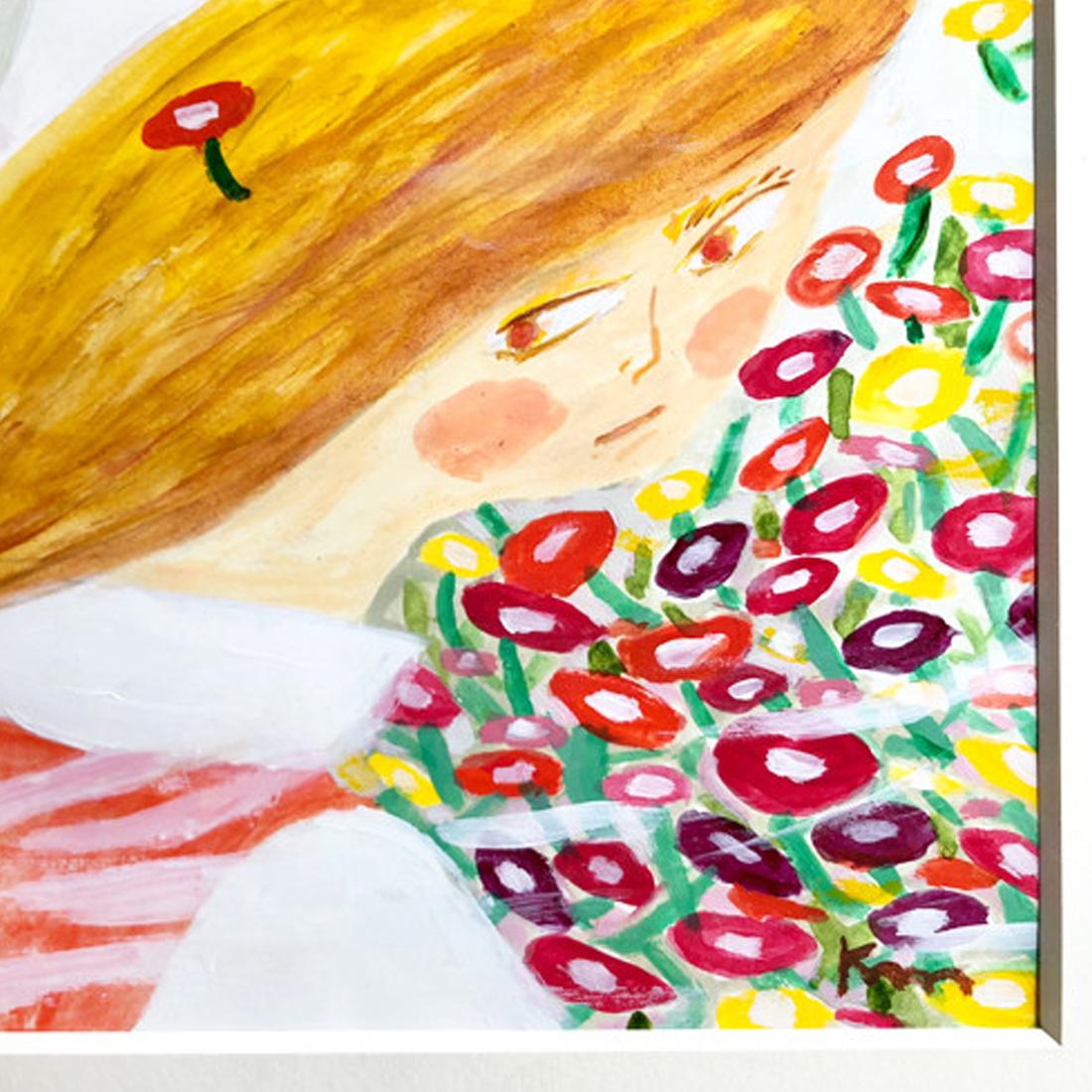 作品「花の子たち」