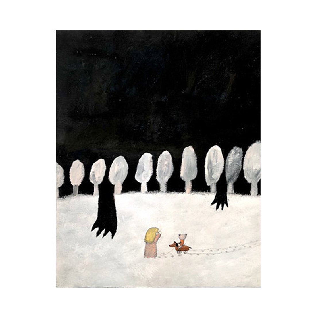 作品「真っ暗闇は隣り」