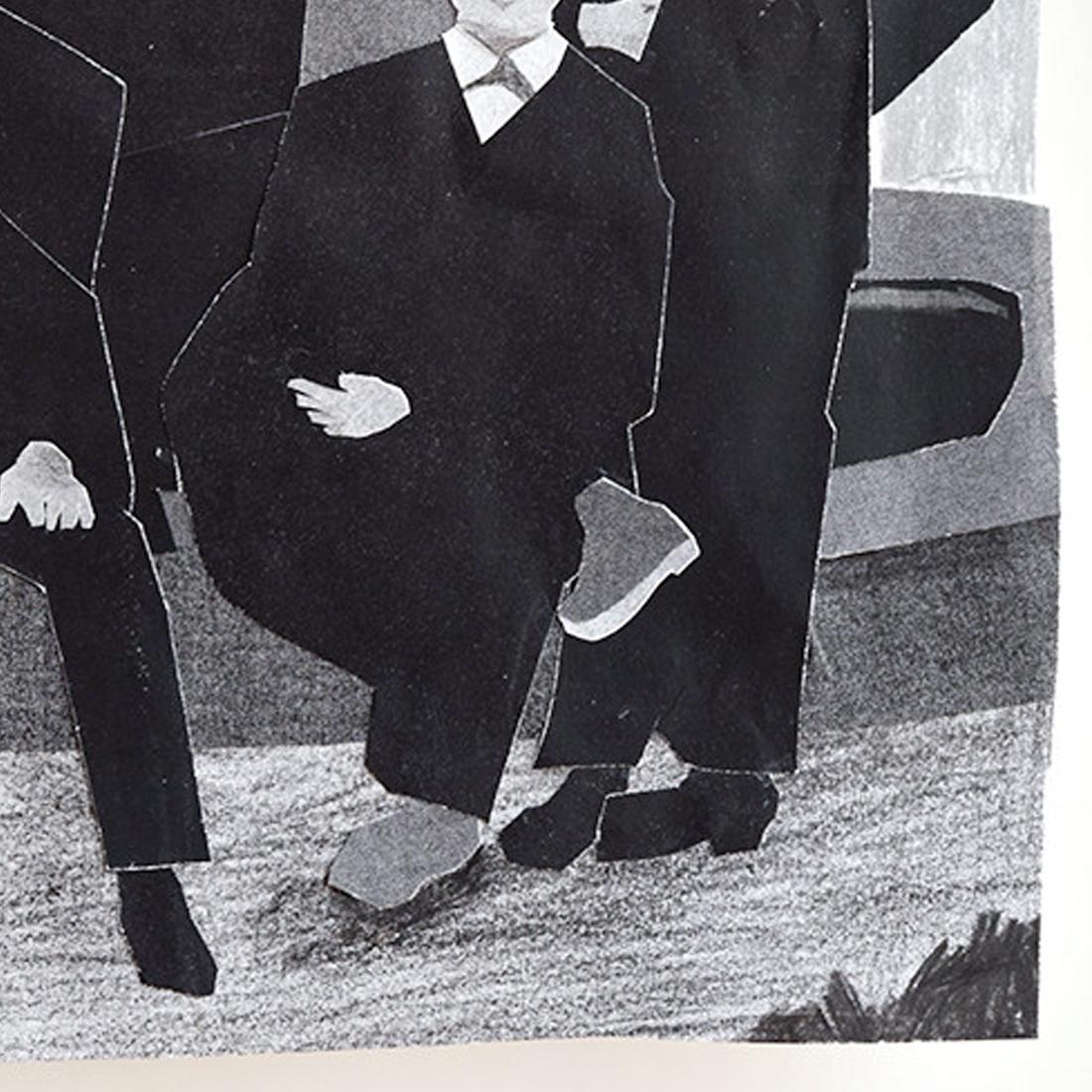 作品「アインシュタイン (前列左) 」