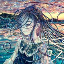 巻田はるか個展「風にゆらぐリボン」