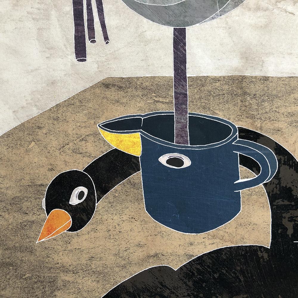 作品「鳥」