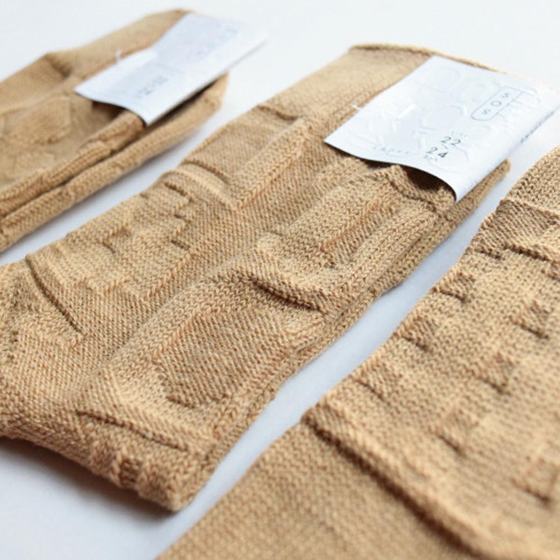 凸凹socks(BEIGE)