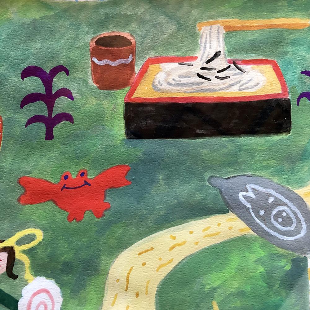 作品「麺の森」
