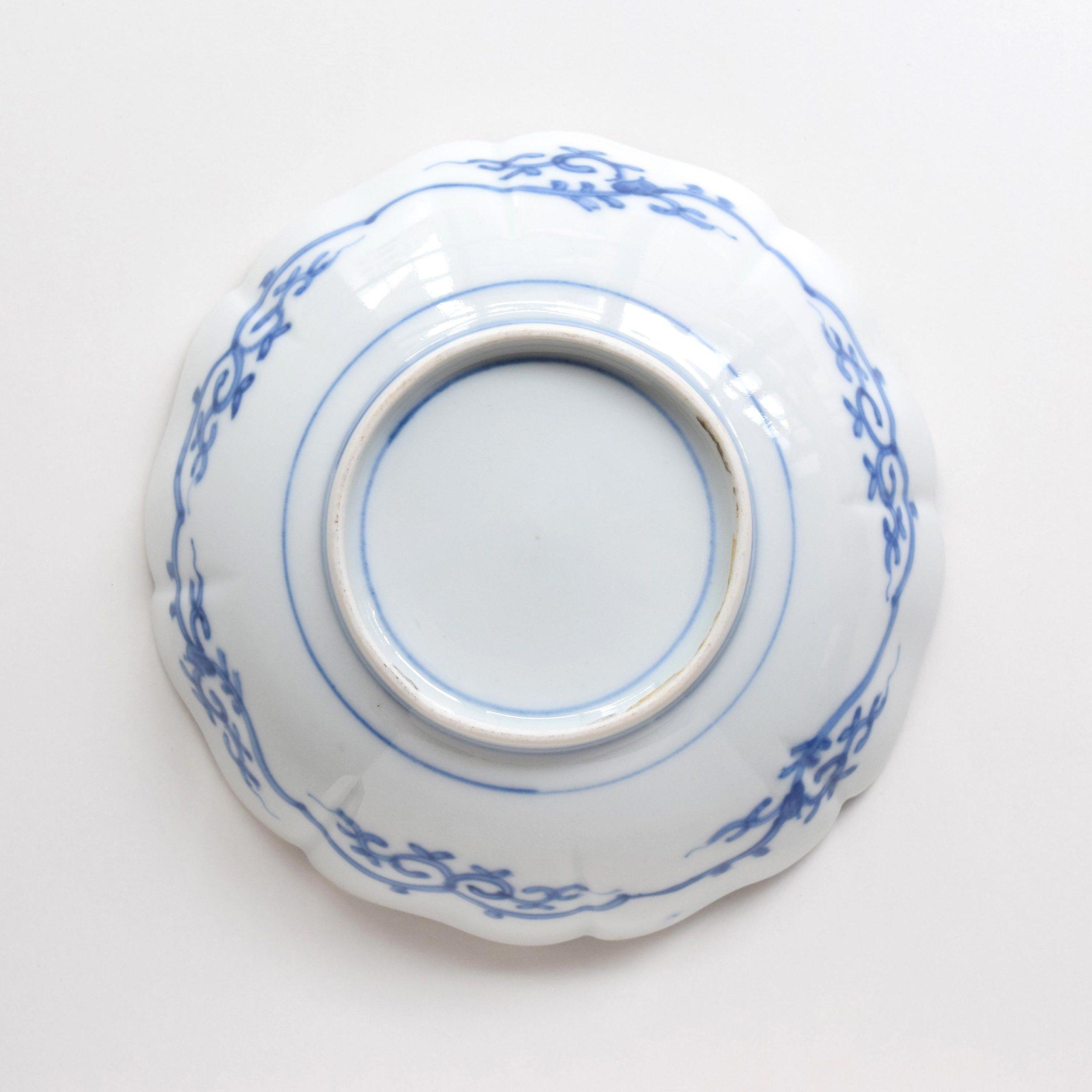 牡丹唐獅子文 なます皿