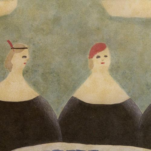 ポスター「三姉妹」