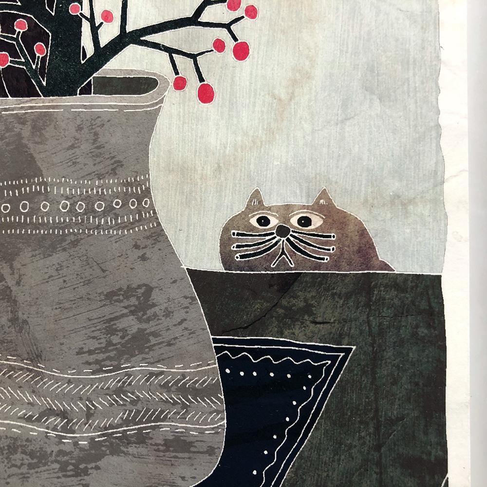 作品「猫」