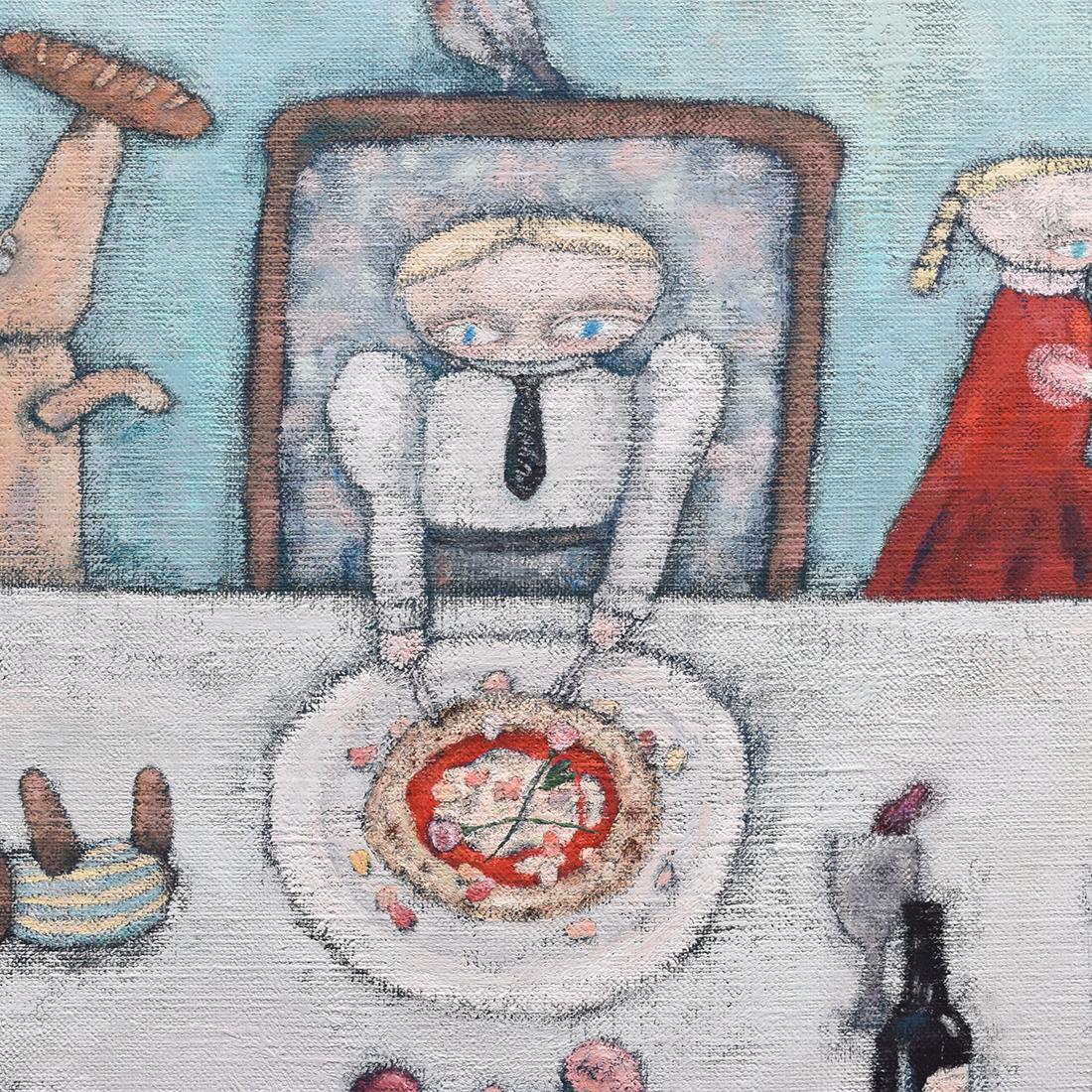 作品「食卓が踊る」