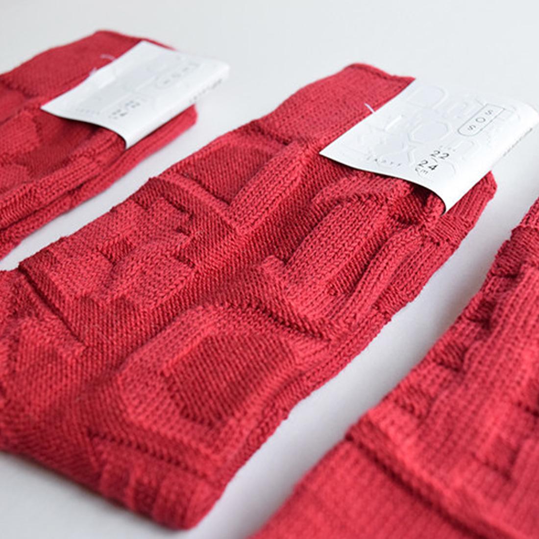 凸凹socks(RED)