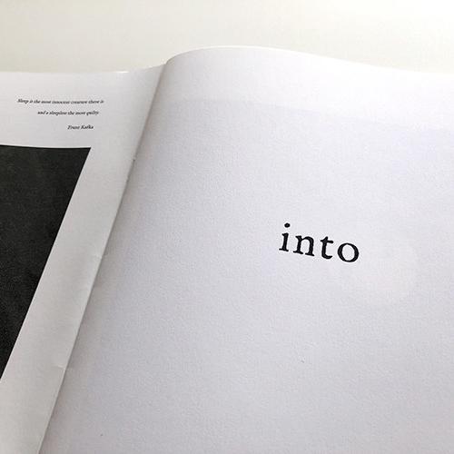 ZINE「into」