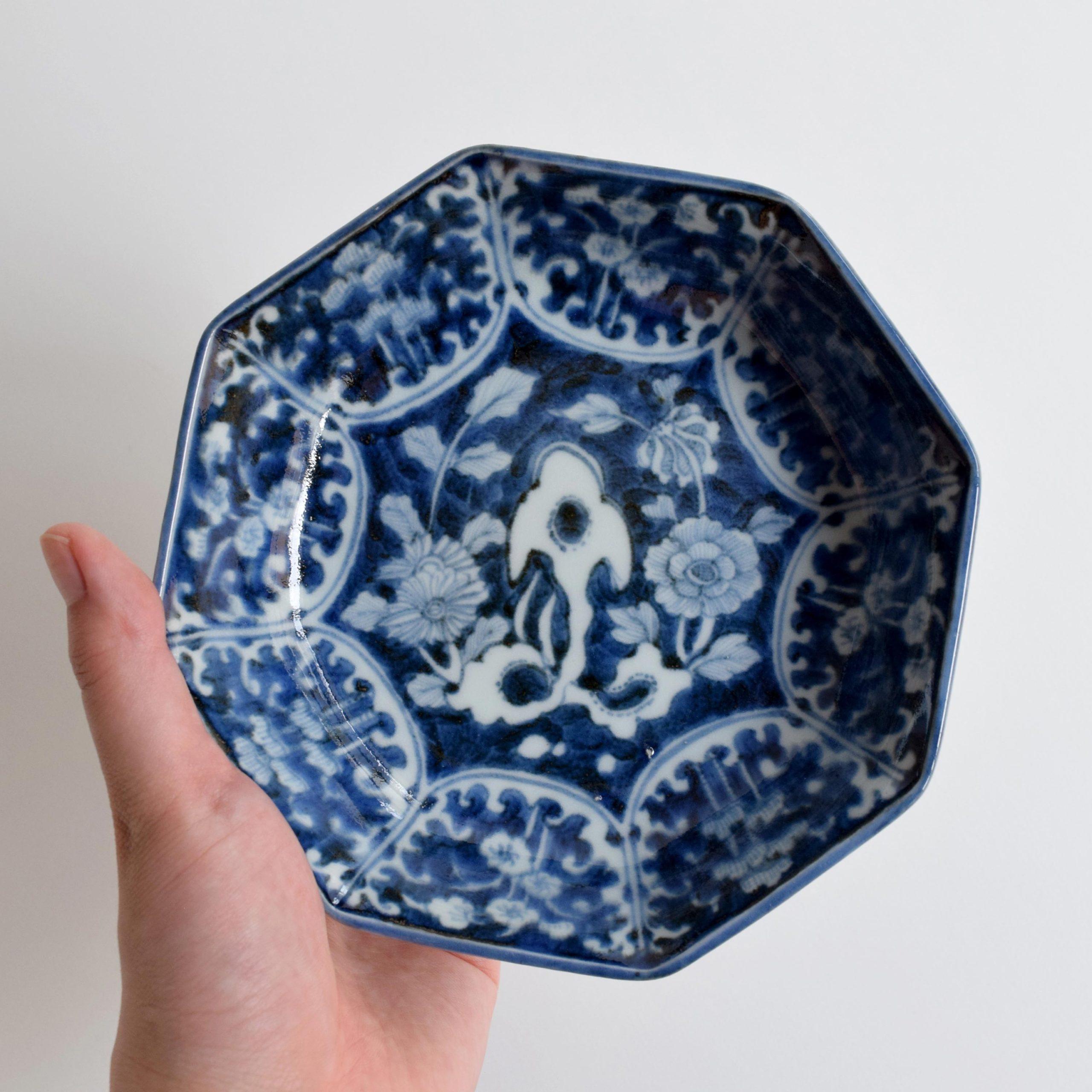 太湖石文 なます皿